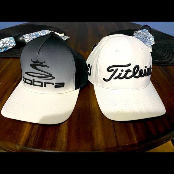 Titleist and Cobra Golf Caps, NWT